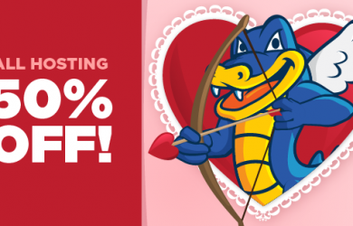 Hostgator Special Discount for Valentine day 14/2