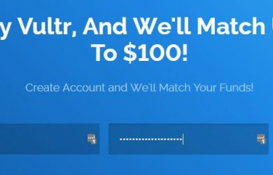 Vultr promo discount will double your Credit, Up to $100!