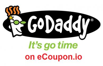 godaddy coupon on ecoupon.io